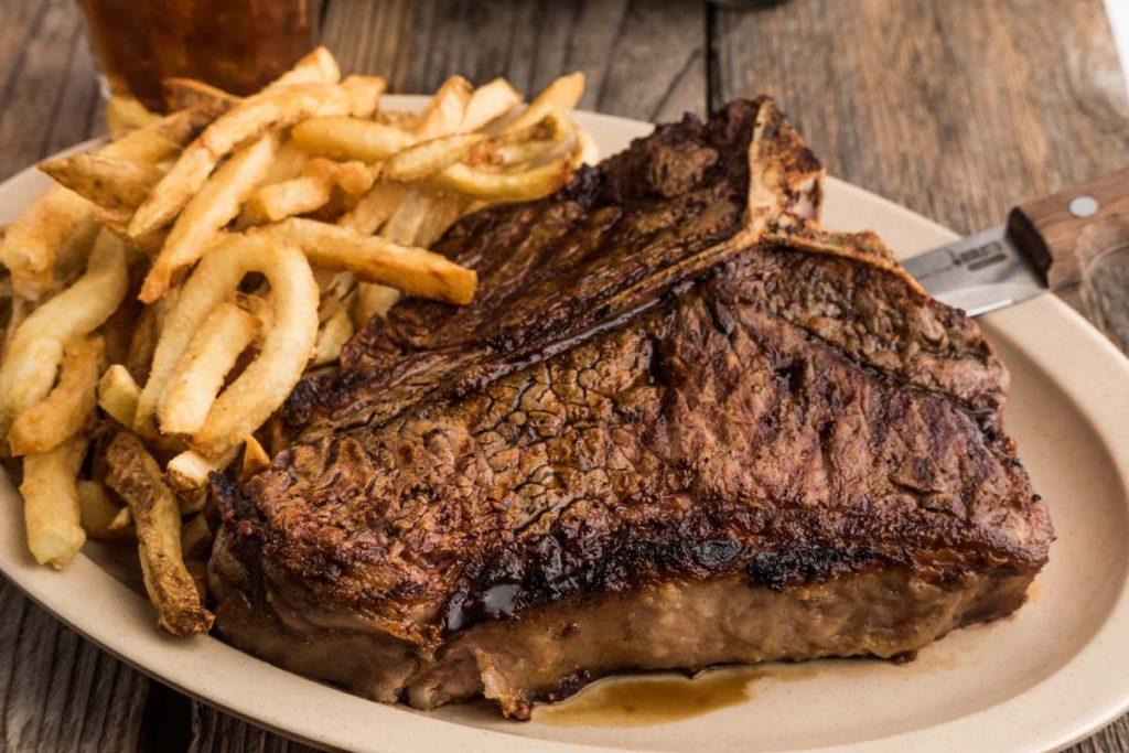 Massive steaks!